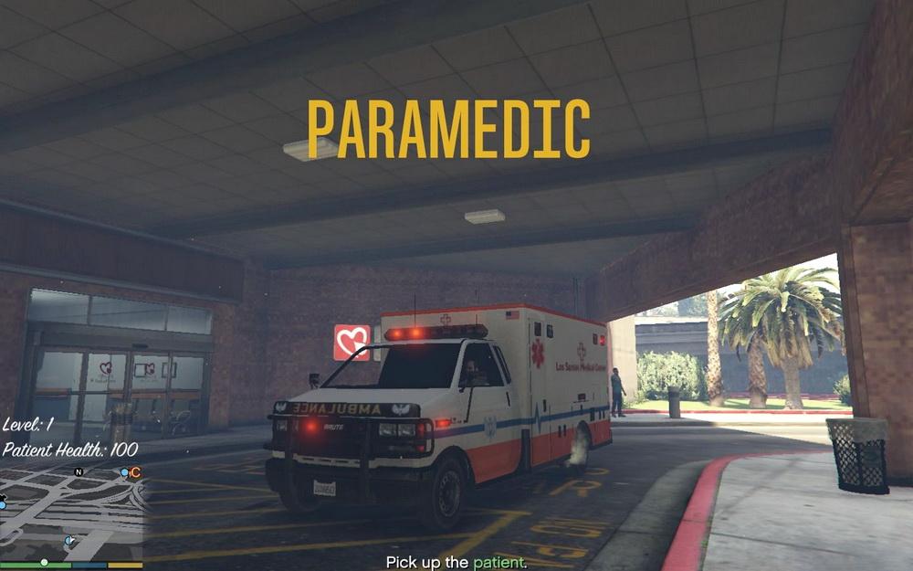 Миссии за медика для GTA 5