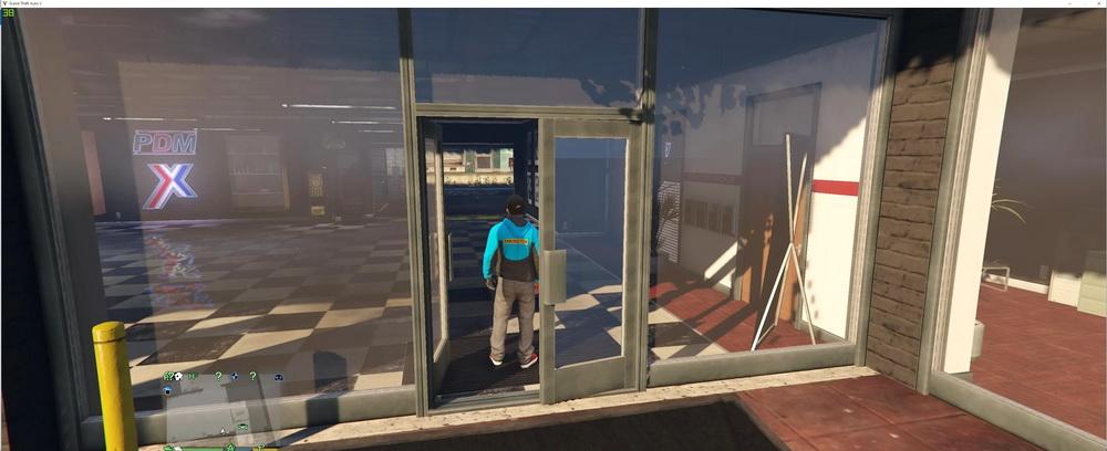 Открытие интерьеров в GTA 5