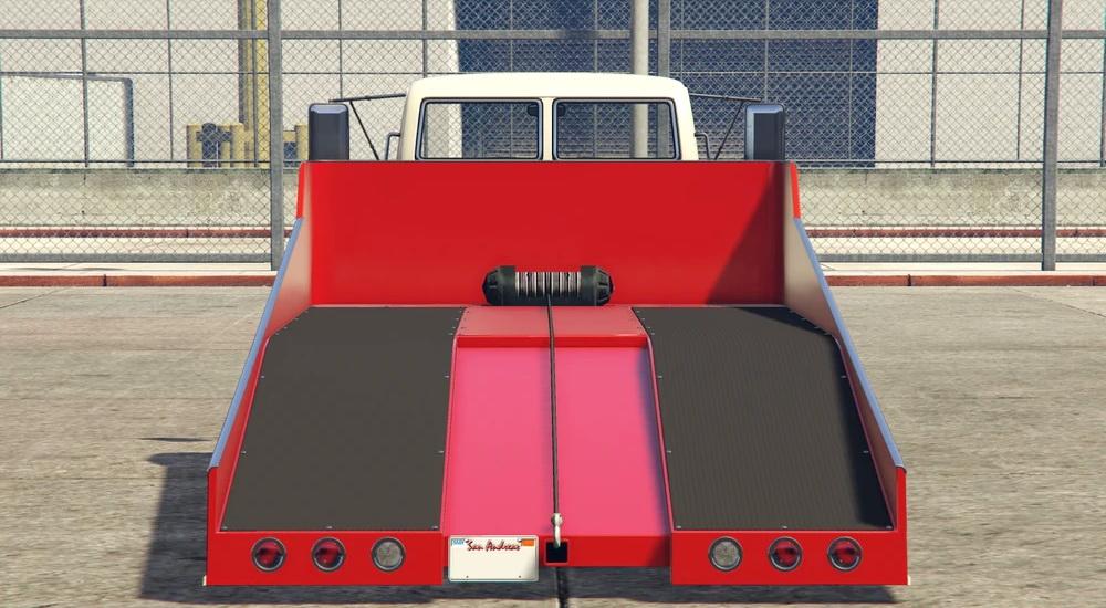 Vapid Slamtruck - Вид сзади