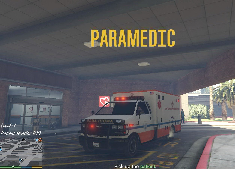 Миссии медика для GTA 5