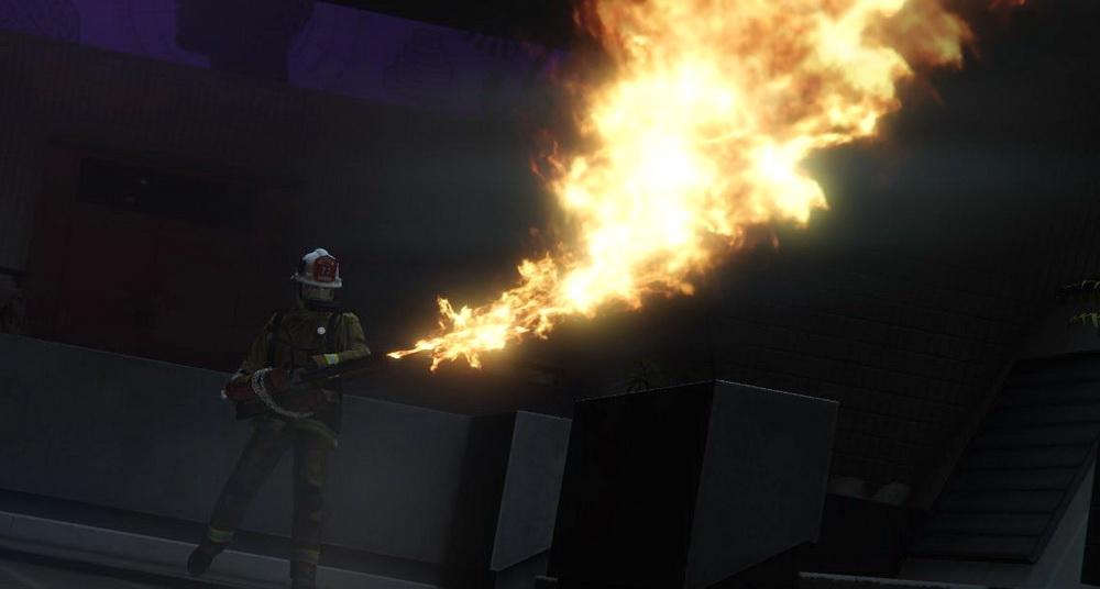 Огнемет для GTA 5