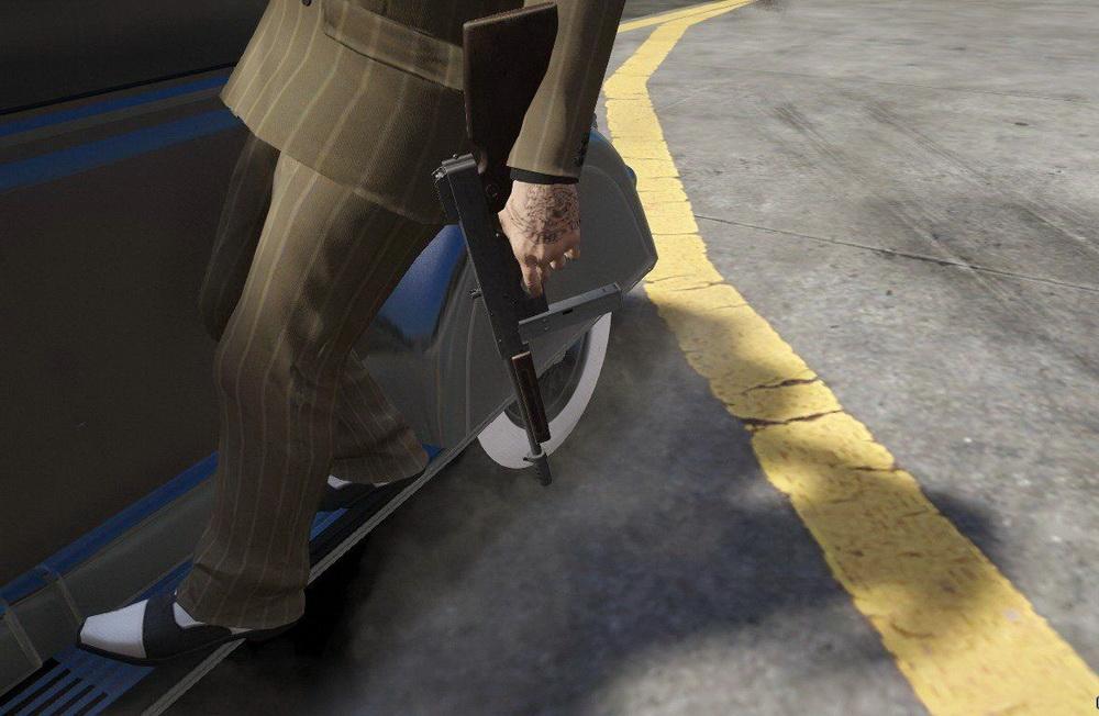 Пулемет Гузенберга для GTA 5