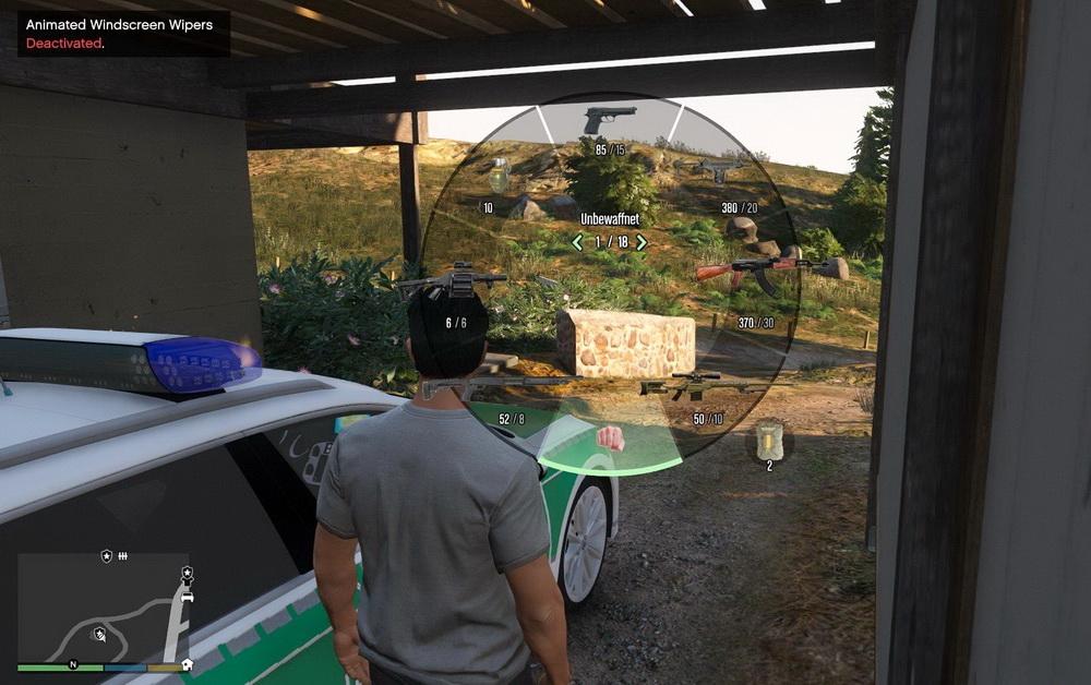 Реалистичные иконки оружия для GTA 5