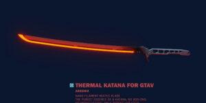 Термическая катана для GTA 5