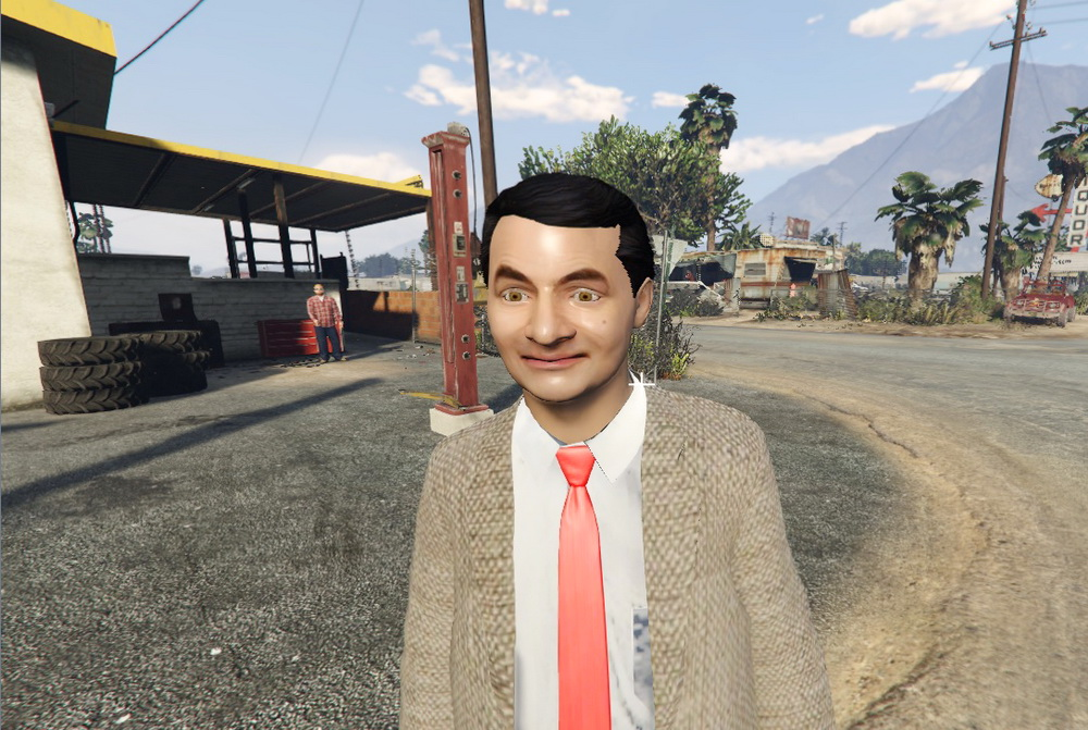 Мистер Бин для GTA 5
