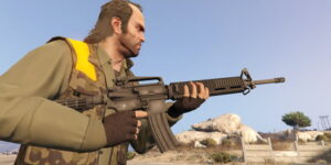 AR-15 для GTA 5
