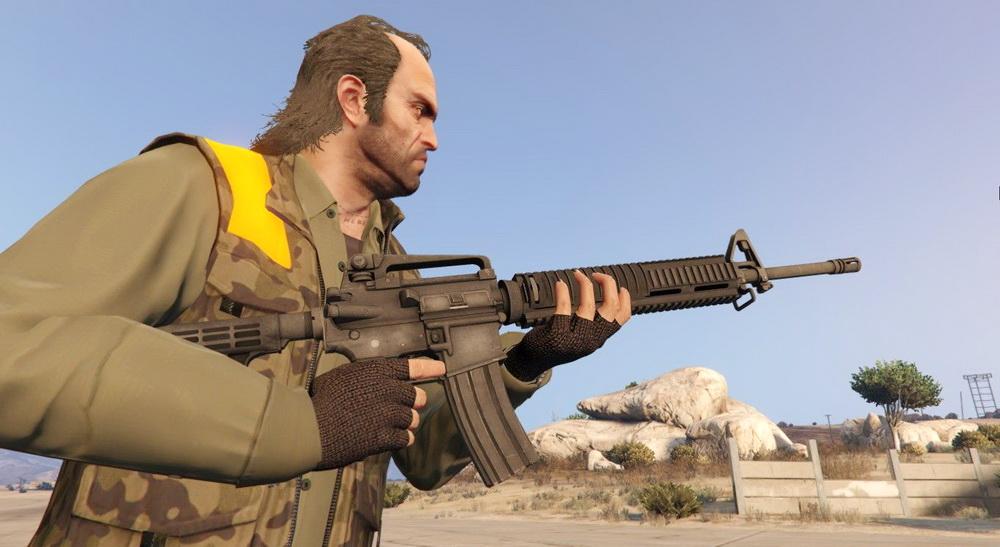 AR-15 for GTA 5