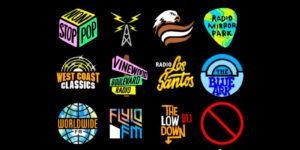 Цветные иконки радио для GTA 5