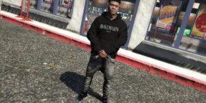 Худи Balmain для GTA 5