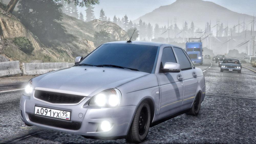 Lada Priora для GTA 5