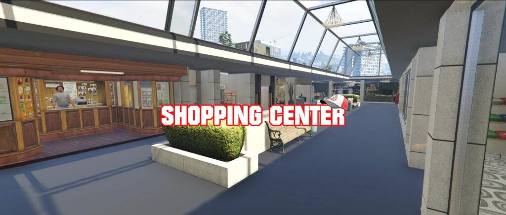 Shopping center for GTA 5