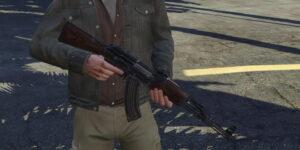 AK-47 для GTA 5