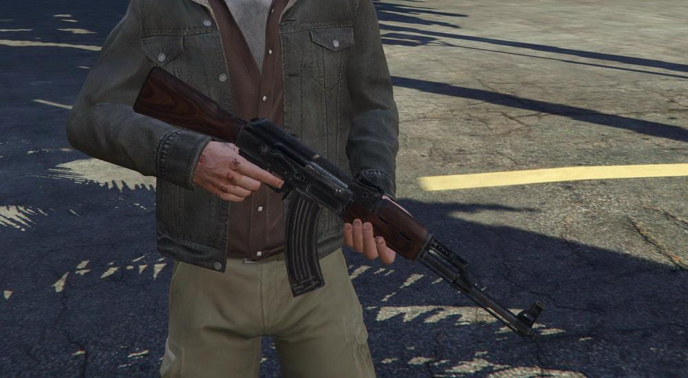 AK-47 for GTA 5