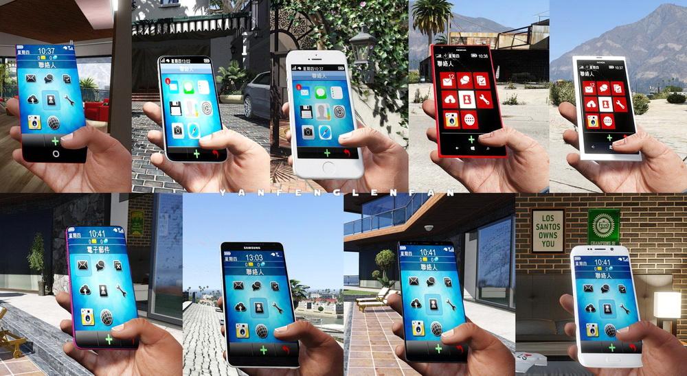 Real phones for GTA 5