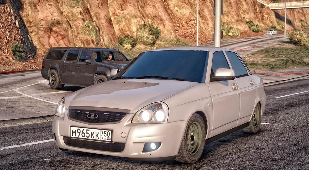 ВАЗ 2170 для GTA 5