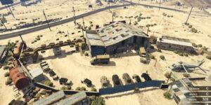 Военный склад для GTA 5