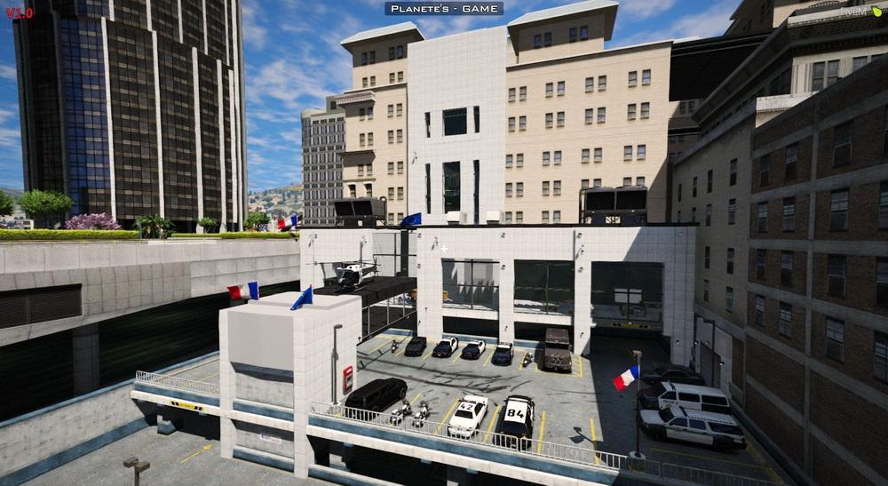 Полицейский центр для GTA 5