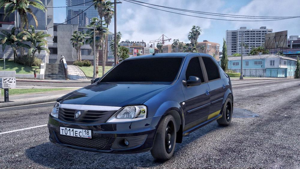 Renault Logan для GTA 5