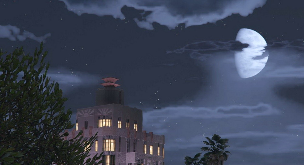 The texture of the night sky for GTA 5